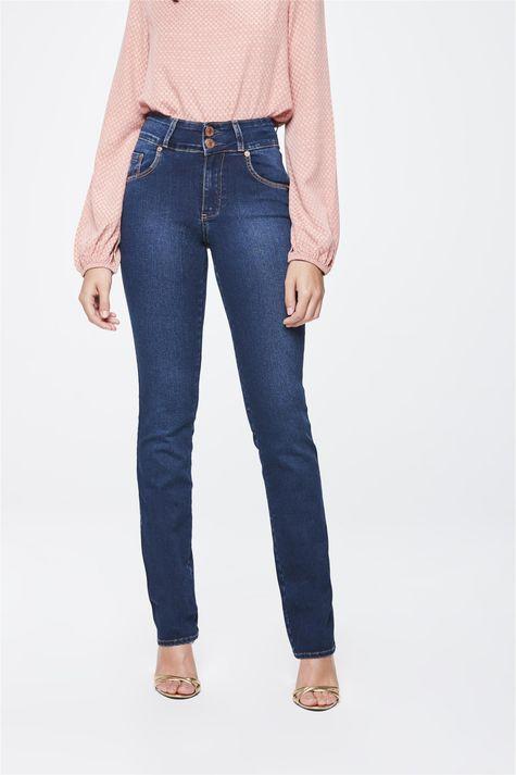Calca-Jeans-Cintura-Alta-Reta-Feminina-Frente-1--
