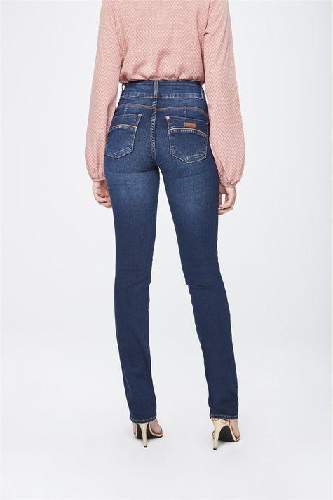 Calca-Jeans-Cintura-Alta-Reta-Feminina-Costas--
