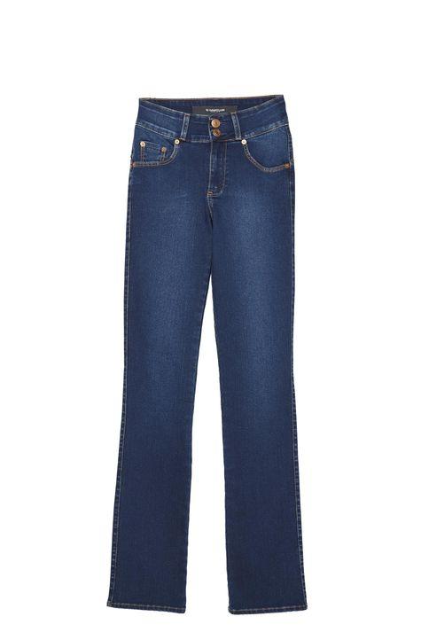 Calca-Jeans-Cintura-Alta-Reta-Feminina-Detalhe-Still--