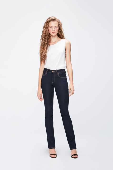 Calca-Jeans-Reta-Cintura-Media-Feminina-Frente--