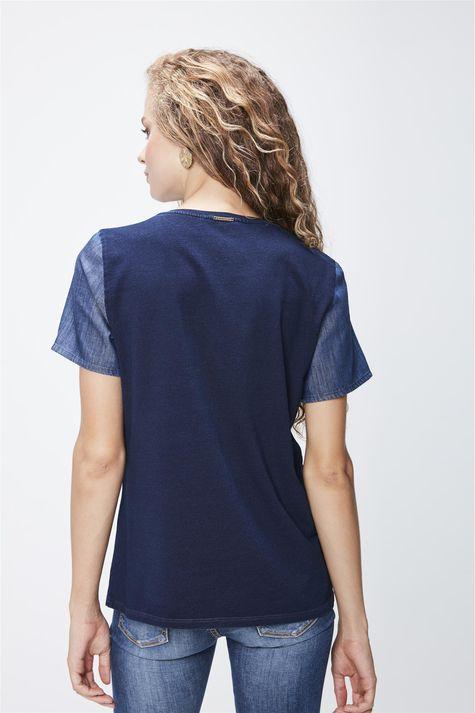 Camiseta-em-Malha-Denim-Feminina-Costas--