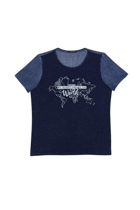 Camiseta-em-Malha-Denim-e-Silk-Feminina-Detalhe-Still--