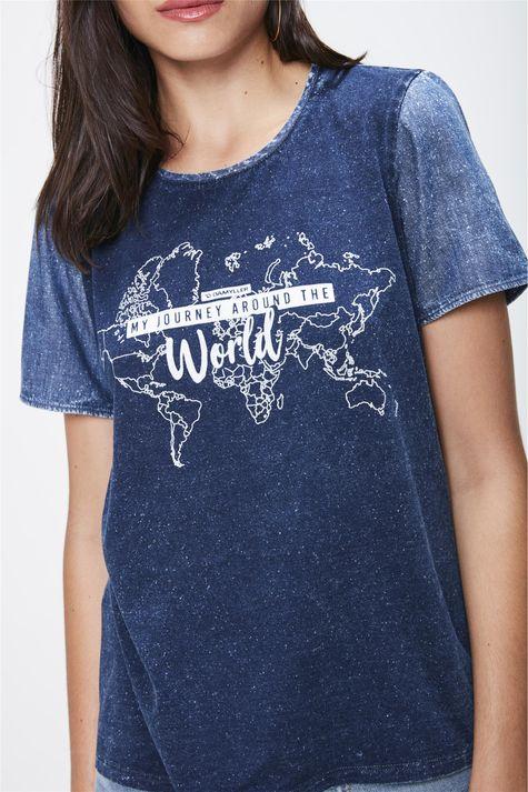Camiseta-em-Malha-Denim-e-Silk-Feminina-Detalhe--