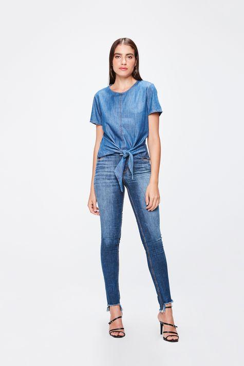 Blusa-Jeans-com-Amarracao-Feminina-Detalhe-1--