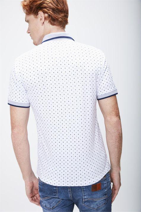 Camisa-Polo-Estampada-Masculina-Costas--