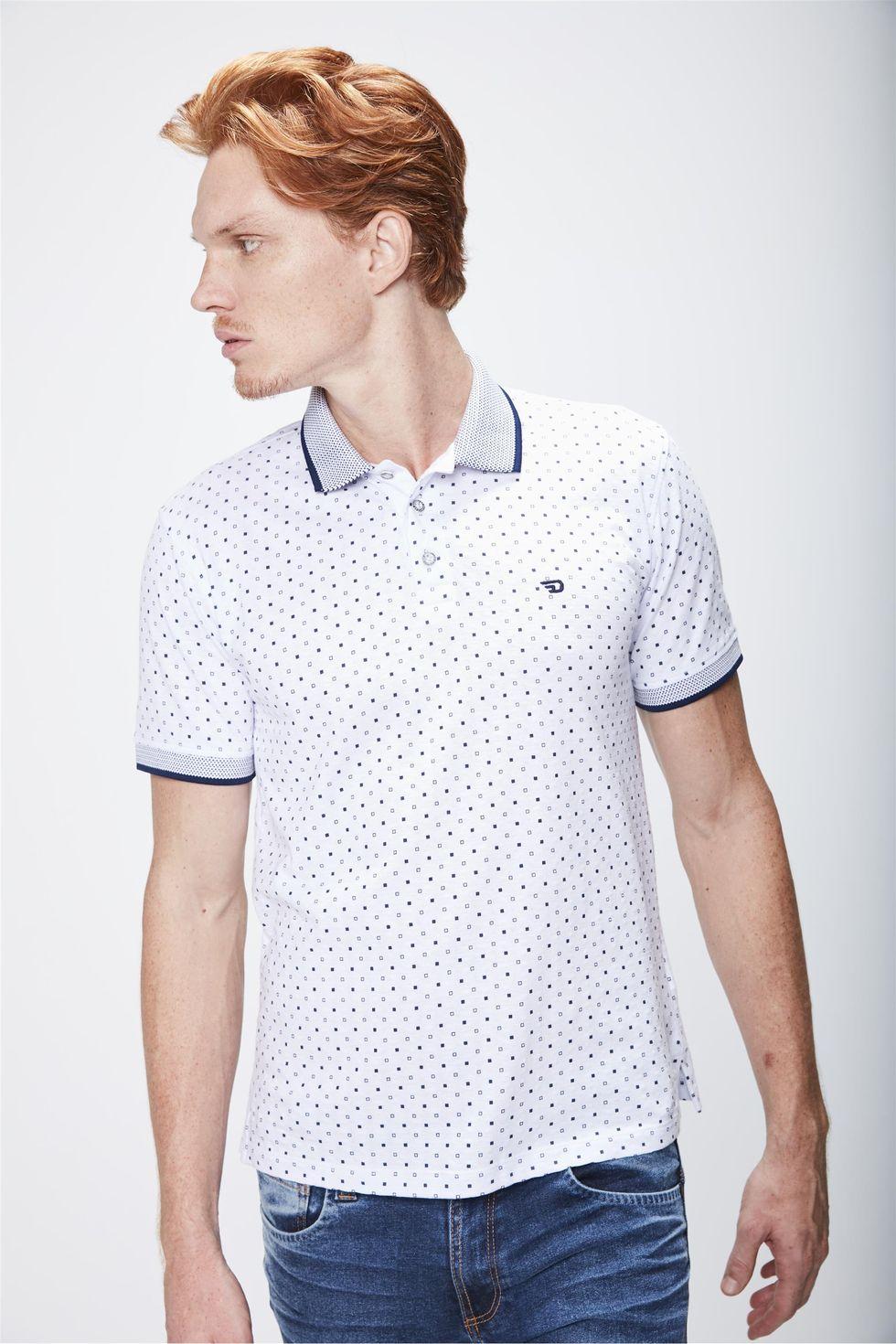 Camisa-Polo-Estampada-Masculina-Frente--