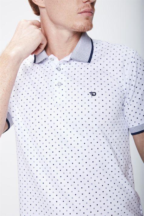Camisa-Polo-Estampada-Masculina-Detalhe--