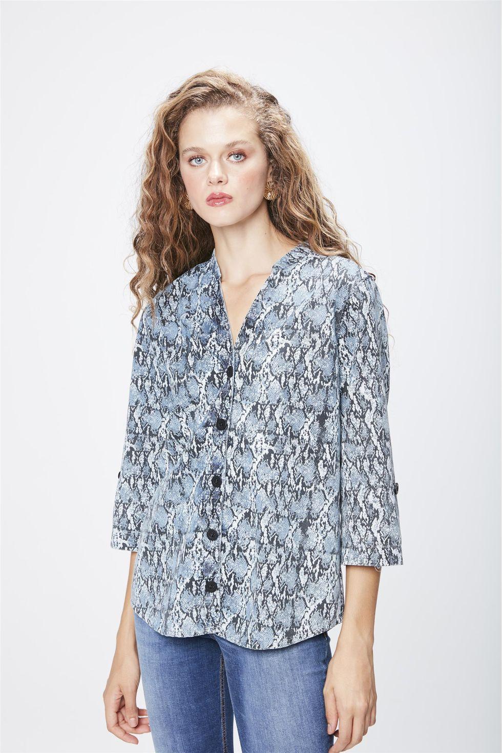 Camisa-Jeans-Animal-Print-Feminina-Frente--