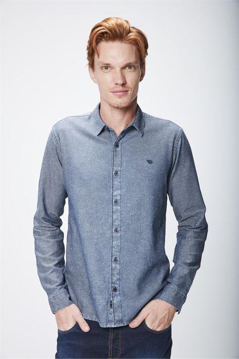 Camisa-Jeans-com-Textura-Masculina-Frente--