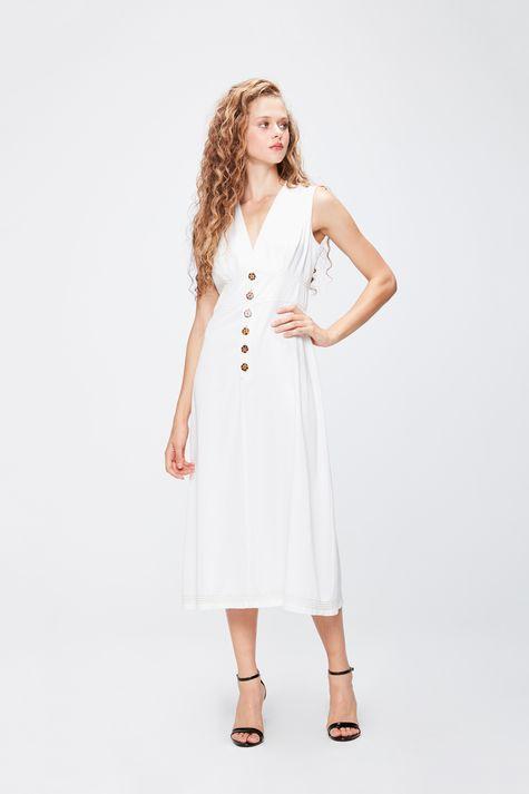 Vestido-Midi-com-Recortes-Feminino-Frente--