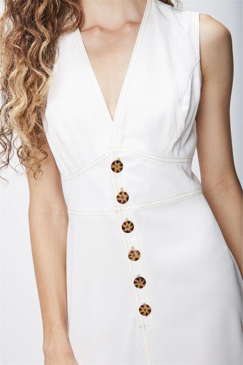 Vestido-Midi-com-Recortes-Feminino-Detalhe--