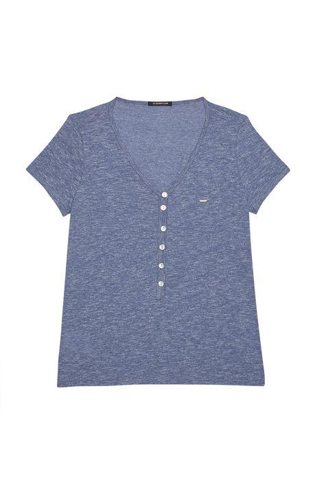 Camiseta-Feminina-com-Botoes-Detalhe-Still--