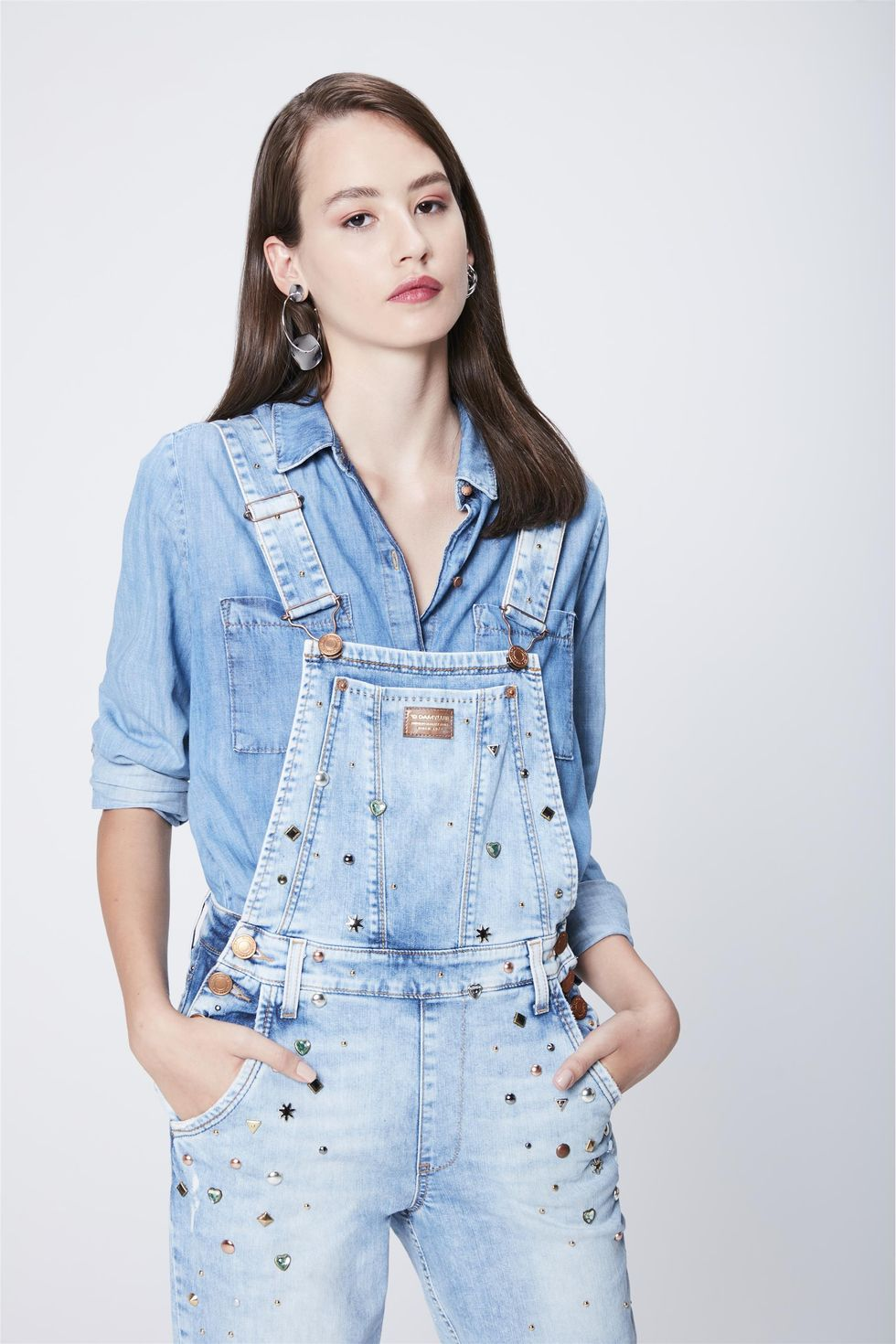 Jardineira-Jeans-Claro-Recollect-Frente--