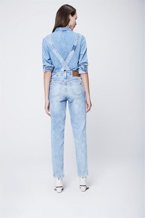 Jardineira-Jeans-Claro-Recollect-Costas--