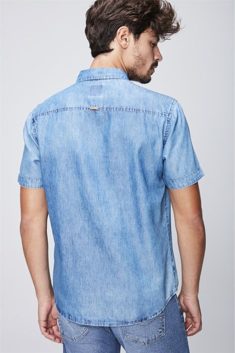 Camisa-Jeans-de-Manga-Curta-Costas--