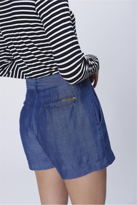 Shorts-Jeans-de-Alfaiataria-Detalhe-1--