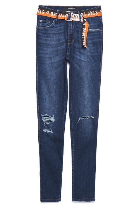 Calca-Jeans-Cigarrete-Rasgada-com-Cinto-Detalhe-Still--