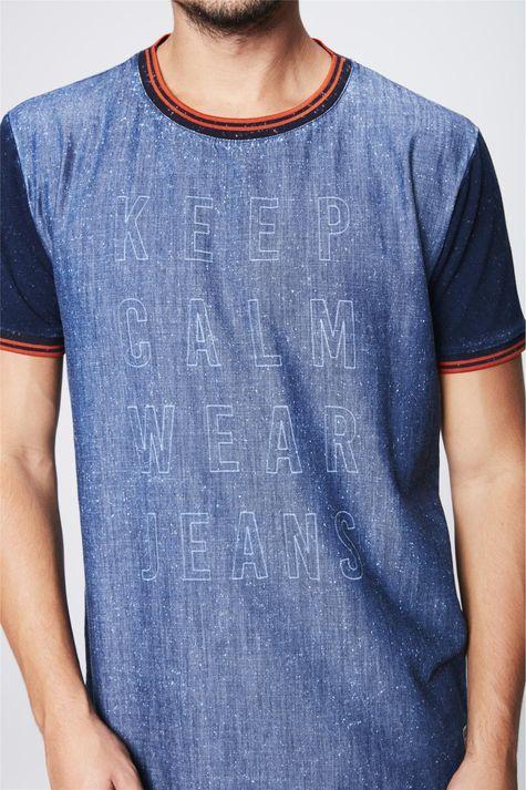 Camiseta-Jeans-College-Masculina-Detalhe--