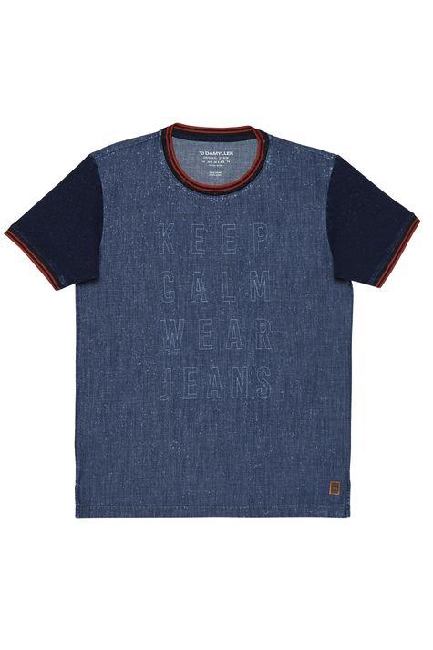 Camiseta-Jeans-College-Masculina-Detalhe-Still--