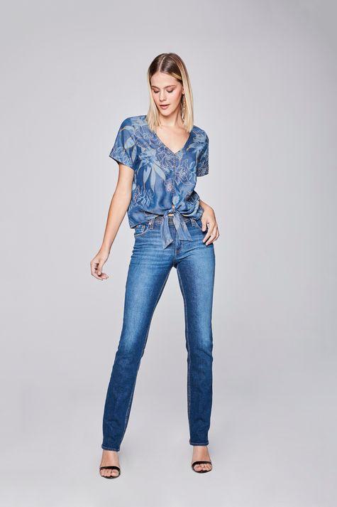 Blusa-Jeans-com-Amarracao-Estampada-Detalhe-1--