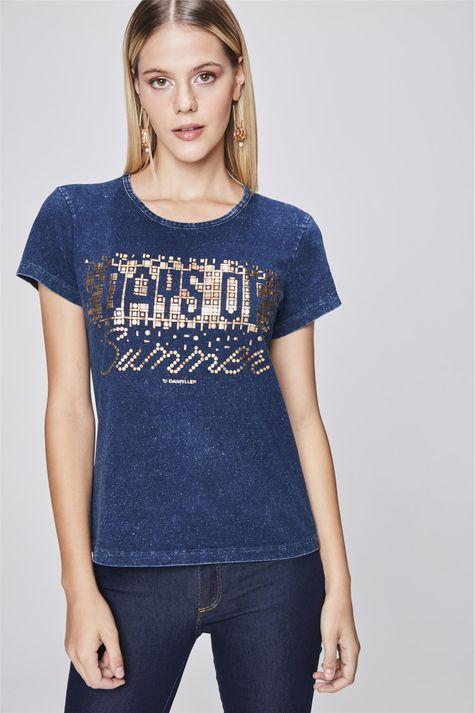 Camiseta-Estampada-de-Malha-Denim-Frente--