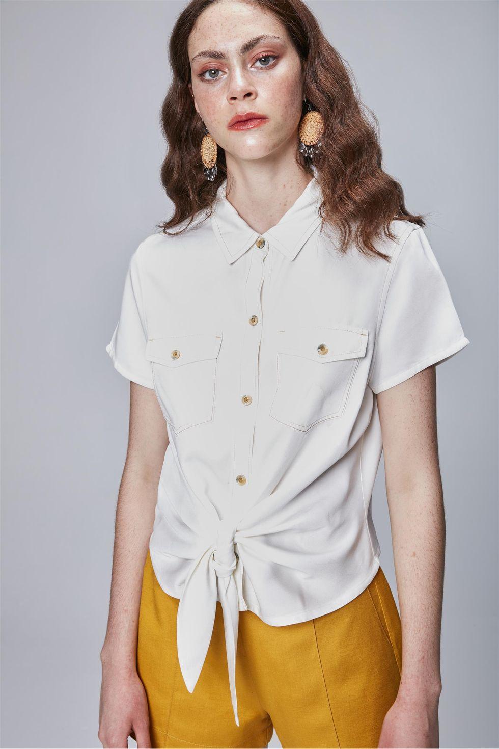 Camisa-Color-com-Amarracao-Feminina-Frente--