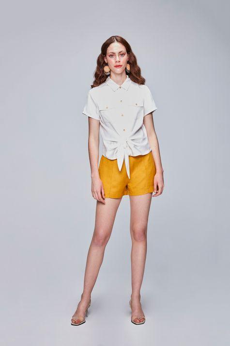 Camisa-Color-com-Amarracao-Feminina-Detalhe-1--