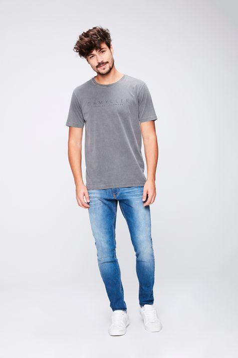 Camiseta-Tingida-com-Estampa-Masculina-Detalhe-1--