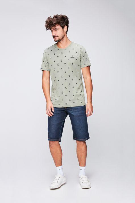 Camiseta-Estampa-de-Repeticao-Masculina-Detalhe-1--