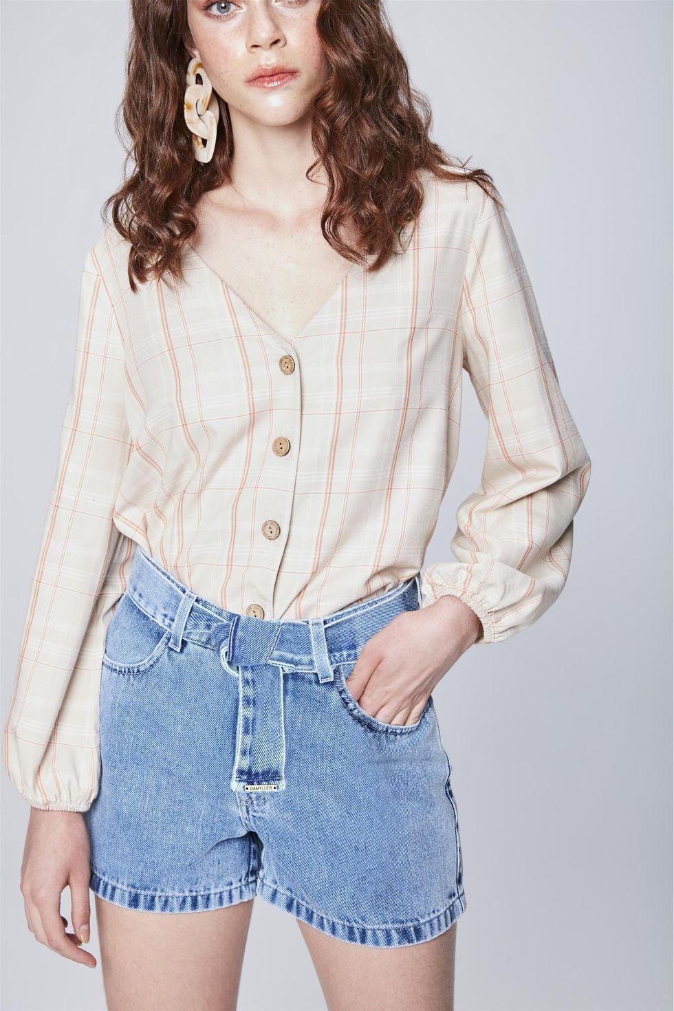 Short-Jeans-com-Cinto-Feminino-Frente--
