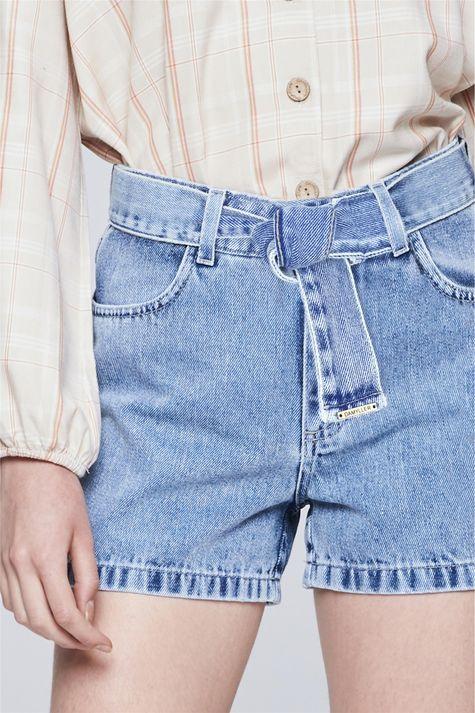 Short-Jeans-com-Cinto-Feminino-Detalhe--