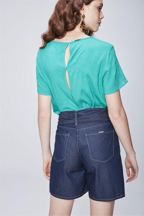 Bermuda-Jeans-Solta-com-Cinto-Feminina-Costas--