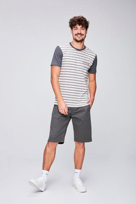 Camiseta-Listrada-com-Silk-Masculina-Detalhe-1--