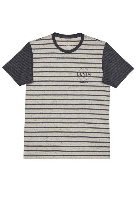 Camiseta-Listrada-com-Silk-Masculina-Detalhe-Still--