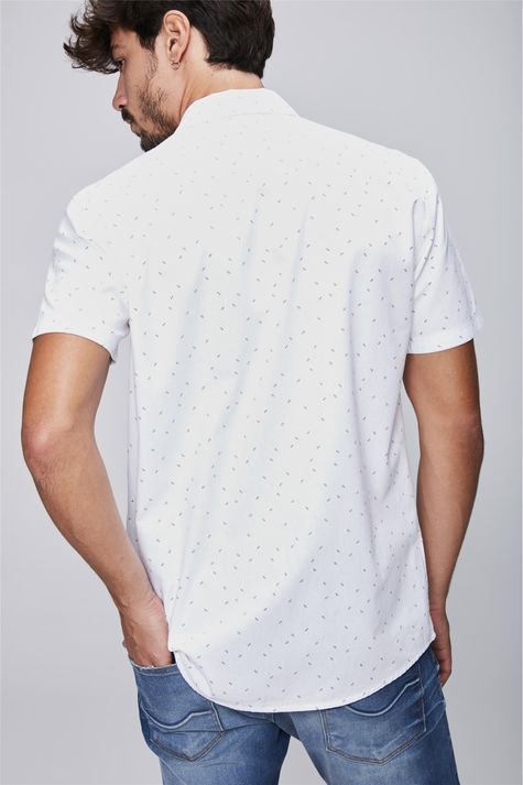 Camisa-com-Estampa-Minimalista-Masculina-Costas--