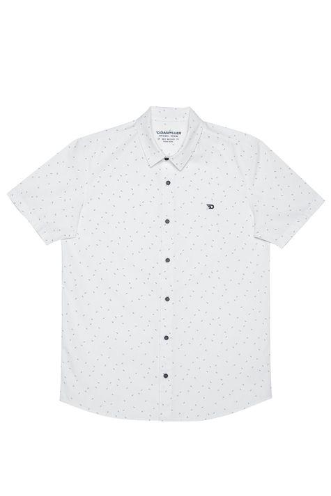Camisa-com-Estampa-Minimalista-Masculina-Detalhe-Still--