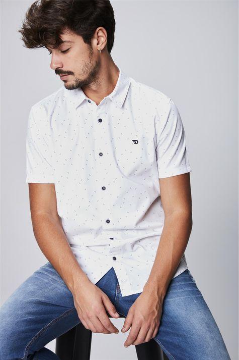Camisa-com-Estampa-Minimalista-Masculina-Frente--