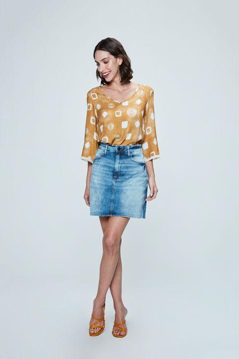 Saia-Jeans-Cintura-Alta-Feminina-Detalhe-1--