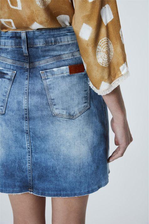 Saia-Jeans-Cintura-Alta-Feminina-Detalhe--