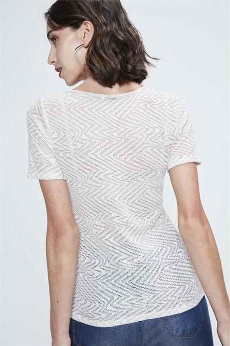 Camiseta-de-Trico-Leve-Feminina-Costas--