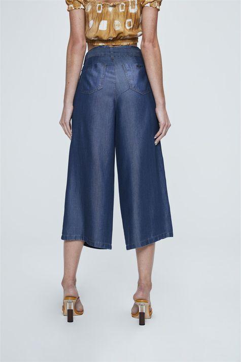 Pantacourt-Jeans-com-Amarracao-Feminina-Costas--