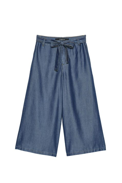 Pantacourt-Jeans-com-Amarracao-Feminina-Detalhe-Still--