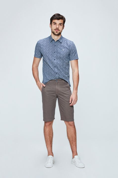 Bermuda-Chino-Color-Estampada-Masculina-Frente--
