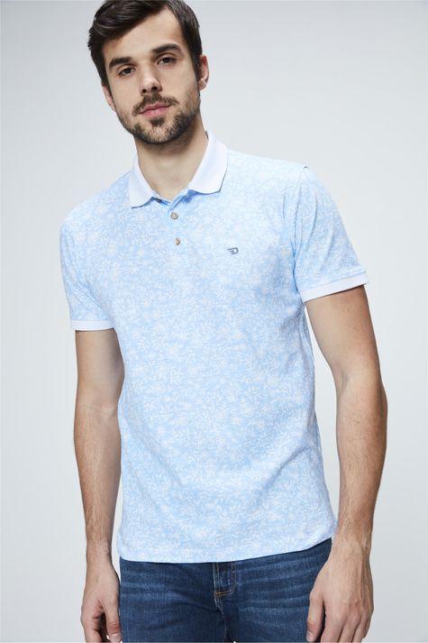 Camisa-Polo-com-Estampa-Floral-Masculino-Costas--