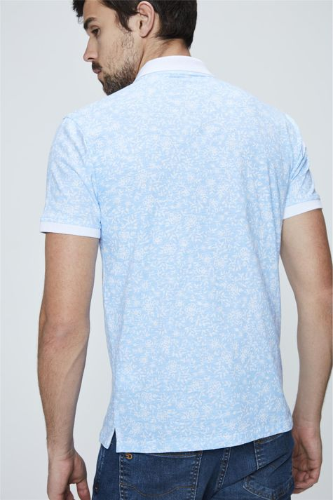 Camisa-Polo-com-Estampa-Floral-Masculino-Detalhe--