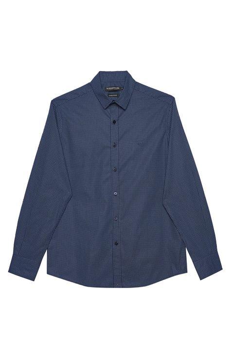 Camisa-Social-com-Estampa-de-Bolinhas-Detalhe-Still--