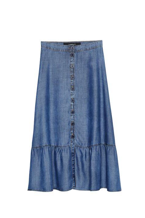 Saia-Jeans-Midi-com-Botoes-e-Babado-Detalhe-Still--