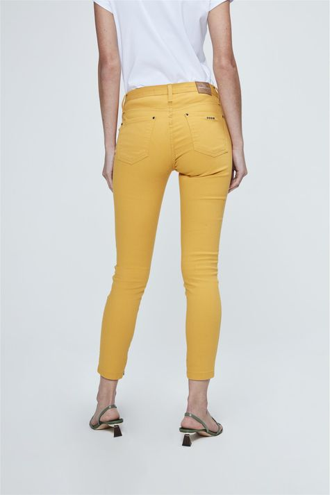 Calca-Jegging-Cropped-Mostarda-Costas--