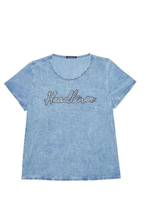 Camiseta-Jeans-com-Aplicacao-Feminina-Detalhe-Still--