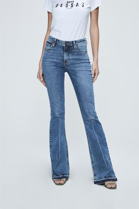 Calca-Jeans-de-Cintura-Alta-Boot-Cut-Frente-1--